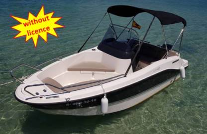 Rental Motorboat Quicksilver B455 'theia' Without Licence Can Pastilla