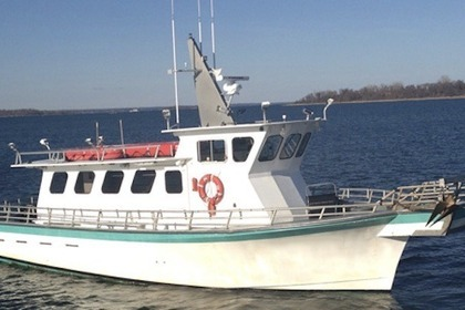 Rental Motorboat Fishing Boat 50ft New York