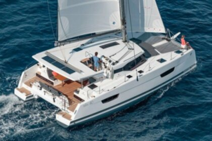 Location Catamaran Fountaine Pajot  ISLA 40 Bandol