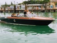 Motorboat Riva Aquariva for hire