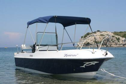 Hire Motorboat Compass 156 Rhodes