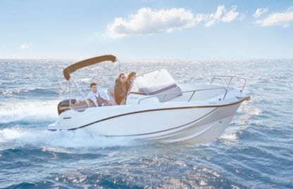 Rental Motorboat Quicksilver Activ 675 Open Canet-en-Roussillon