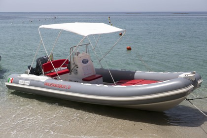 Hire RIB Nautica Diving 6.30 Tropea