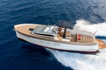 Charter Motorboat Apreamare Gozzo Six-Fours-les-Plages
