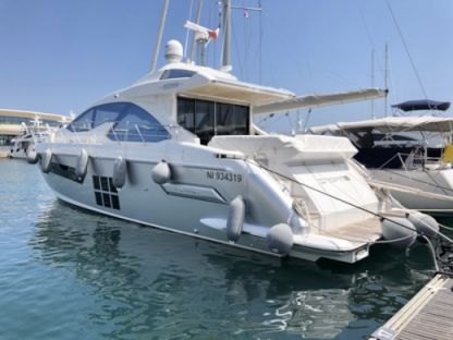 Charter Motorboat Azimut S55 Cannes