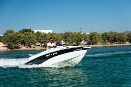 Charter Motorboat Compass 150 CC Milos