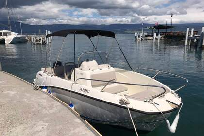 Hire Motorboat Quicksilver Activ 555 Open Thonon-les-Bains