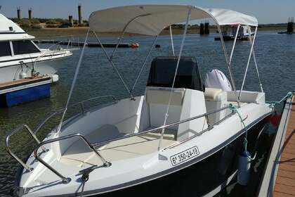 Hire Motorboat Compass 165cc Lepe