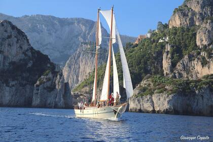 Hire Sailboat Zottola Goletta Sorrento