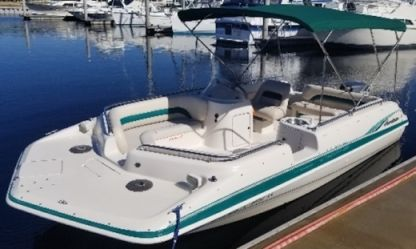 Charter Motorboat Hurricane 20Ft Ruskin