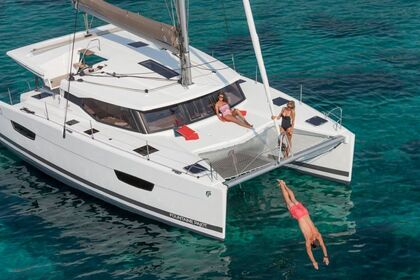 Location Catamaran Fountaine Pajot Lucia 40 Ajaccio