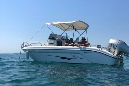 Rental Motorboat Ranieri Shadow 22 Gruissan