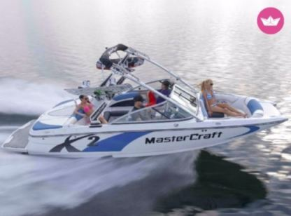 Rental Motorboat Mastercraft X26 Trinity County