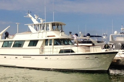 Rental Motorboat HATTERAS CUSTOM Palm Beach