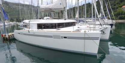 Location Catamaran Lagoon 450F Ajaccio