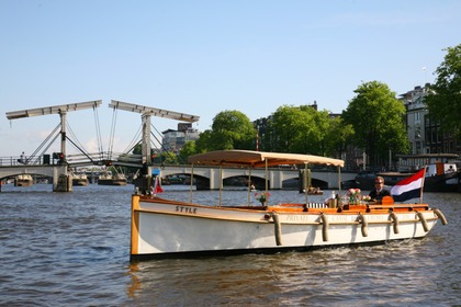 Hire Motorboat Custom Luxe Sloep Style Amsterdam