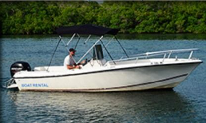 Charter Motorboat Bayliner 21 Key West