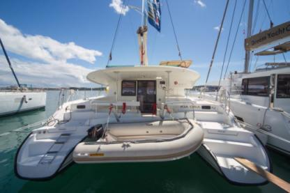 Charter Catamaran Fountaine Pajot Lipari 41 Evolution Olbia