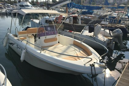 Rental Motorboat SAVER 5,50 Open Alghero