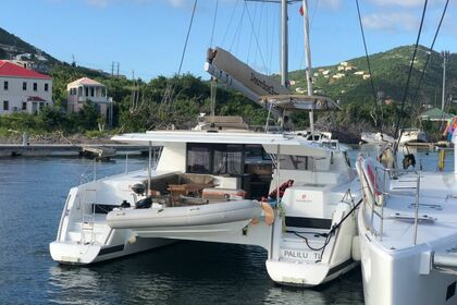 Hire Catamaran Fontaine Pajot Helia 44 with watermaker & A/C - PLUS Saint Thomas