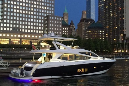 Hire Motor yacht SUNSEEKER 73 Manhattan Newport