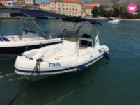 Motorboat Maestral Rib - Mercury 115 Hp for hire