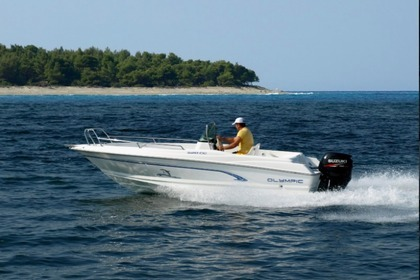Rental Motorboat Olympic 520cc Euboea