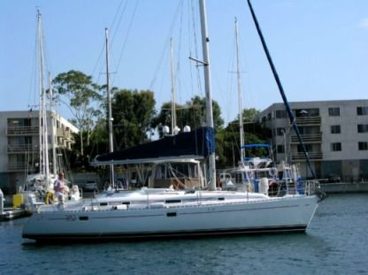Rental Sailboat Beneteau 38 Foot Beneteau Sailing Sloop Oxnard