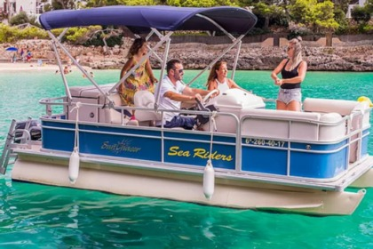 Charter Motorboat Sunchaser Pontoon Cala d'Or