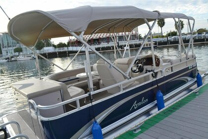 Charter Motorboat Pontoon 21 Newport Beach