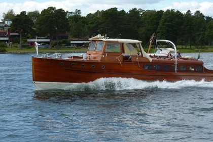 Rental Motorboat Custom Motorboat Stockholm