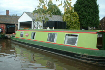 Miete Motorboot Custom Narrowboat 48ft Staffordshire