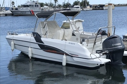 Rental Motorboat Beneteau Flyer Spacedeck 7,7 Gruissan