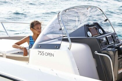 Rental Motorboat QUICKSILVER 755 Activ Open Trogir