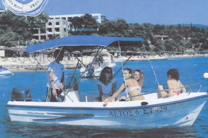 Rental Motorboat Wavemaster 450 Chalkidiki