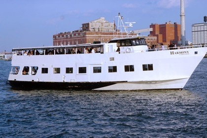Charter Motorboat Modern Party Yacht 100ft New York