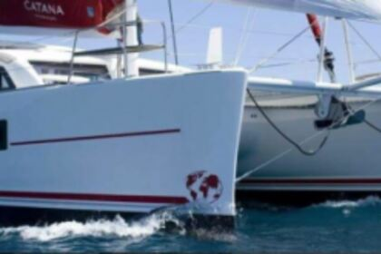 Charter Catamaran Catana Catana 47 CI with watermaker & A/C - PLUS Saint Thomas