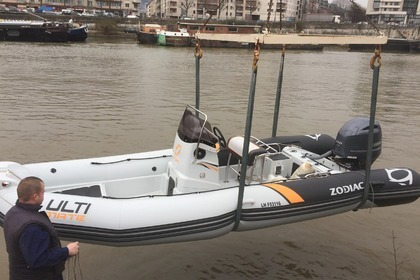 Location Semi-rigide Zodiac Pro Open 650 Le Havre