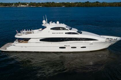 Rental Motor yacht Lazzara 116 Palm Beach