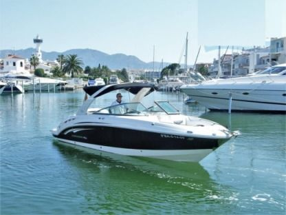 Rental Motorboat Chaparral 276 Empuriabrava