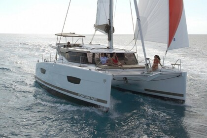 Location Catamaran Fountaine Pajot Lucia 40 O.V. with watermaker & A/C - PLUS Antigua-et-Barbuda