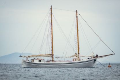 Rental Sailing yacht Traditional Wooden Boat Schooner Patmos