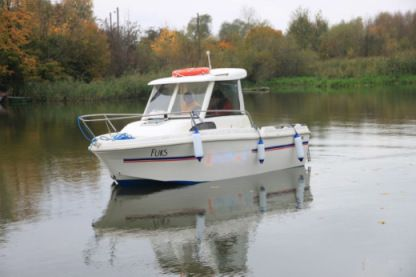 Charter Motorboat Merry Fisher 530 Żuławki