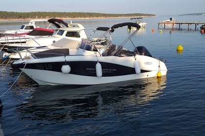Charter Motorboat Oki boats Barracuda 545 Rab