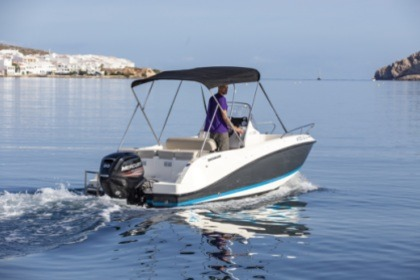 Charter Motorboat Quicksilver 505 Activ Fornells, Minorca