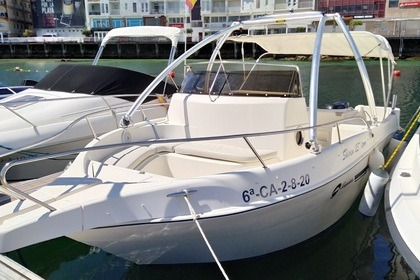 Rental Motorboat Shiren Open 23 Sanxenxo