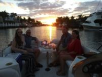 Sylvan Deck Boat in Fort Lauderdale