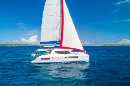 Charter Catamaran  Sunsail 454L Castries