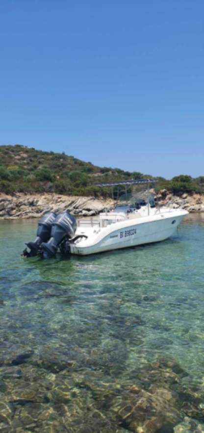Miete Motorboot Sessa Marine Key Largo 25 Saint-Florent