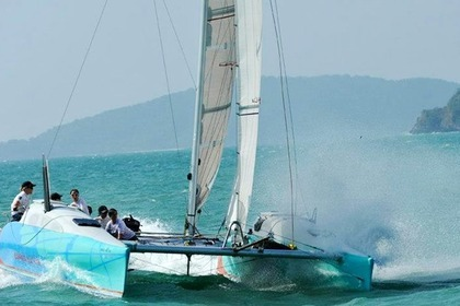 Charter Catamaran Mark Pescott custom Phuket